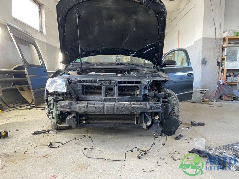 Passat B6 окраска и востоновление зазоров