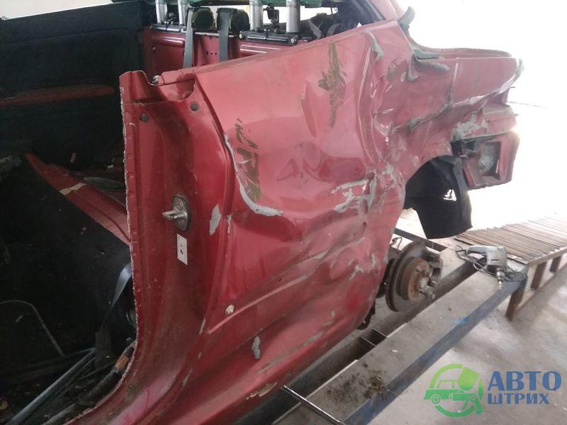 Восстановление Пежо 307СС после сильнейшего удара
