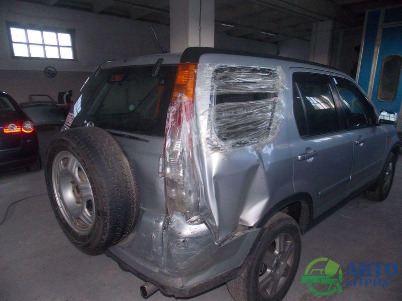 Замена правой задней четверти Хонда CRV