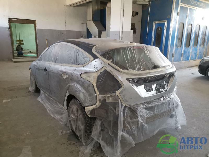 Форд Фокус 2012 г.в. Восстановление лакокрасочного покрытия